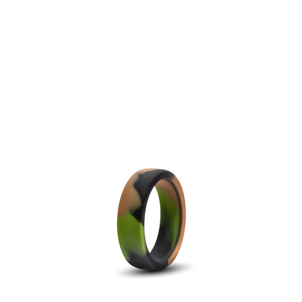PERFORMANCE SILICONE CAMO COCK RING • Green Camouflage
